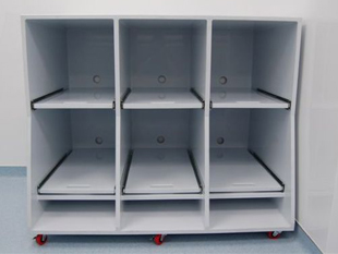 Hospital Printer Carts by Advanced Plastic Fabrications