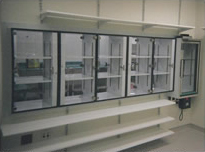 Custom Lab & Clean Room by Advanced Plastic Fabrications