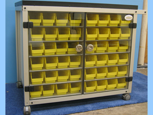 Medical Cart by Advanced Plastic Fabrications
